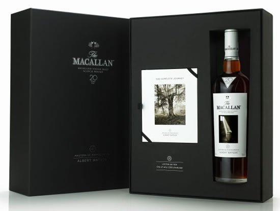 macallan 1 Macallans limited edition Albert Watson series priced at $16,000 a bottle