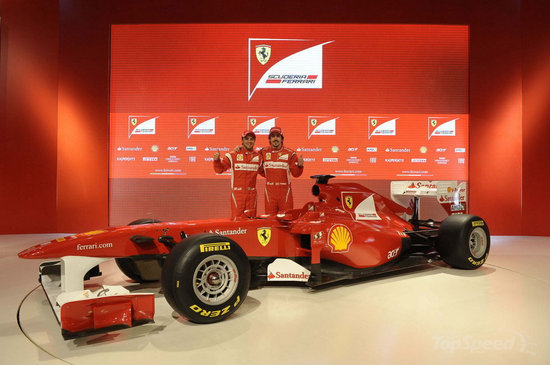 2011-Ferrari-F150-Formula-1-Car-2.jpg. [Topspeed]