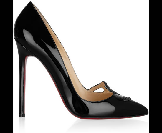 The Christian Louboutin Sex pumps are priced at $1,400.