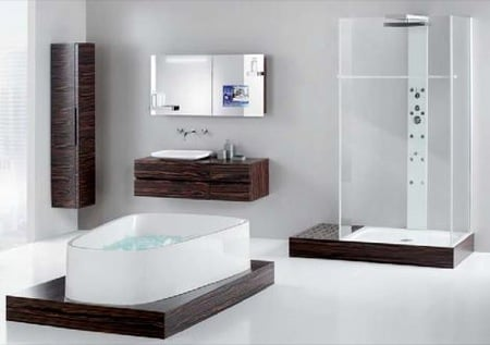 Luxury Master Bathroom Designs on Luxury Bathroom Design When Planning A New Bathroom Design Or