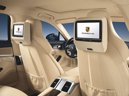 2011 Porsche Panamera Car Interior