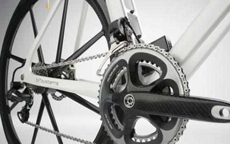 sepeda unik mahal jalan raya