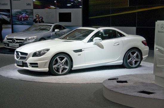 Mercedes Benz slk 350 amg 2012