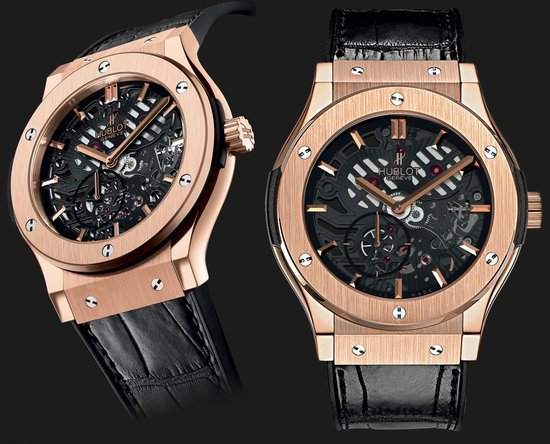 Hublot Classic Fusion Extra–Thin Skeleton watch will be unveiled at BaseWorld
