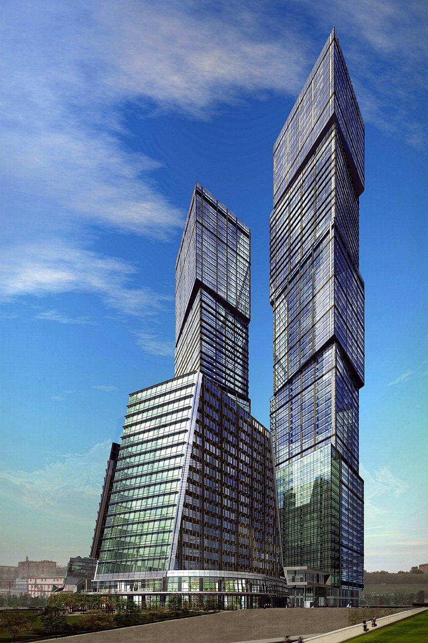 City of capitals towers for moscow s skyline luxurylaunches for A m salon equipment st louis mo