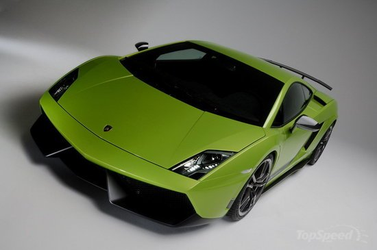 Lamborghini Gallardo LP570-4 Superleggera at the Geneva motor show