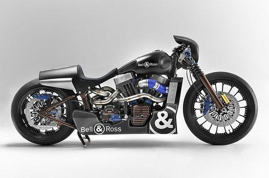 Harley-Davidson designs a Bell & Ross-inspired Nascafe Racer