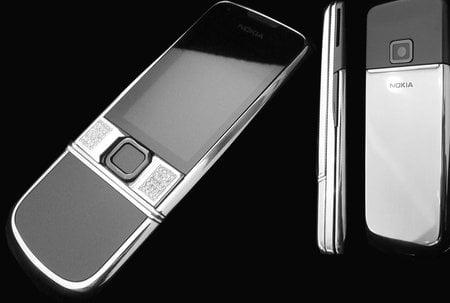 Nokia 8800 arte Platinum Snow fox Edition from Goldstriker
