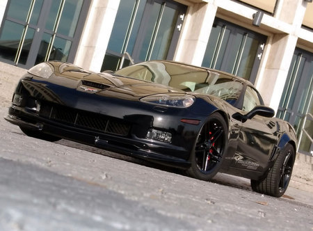 Corvette Z06 available in black