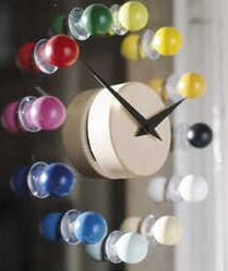 Girotondo Suction Clock - Luxurylaunches.com :  contemporary gadgets contest2 suction cup