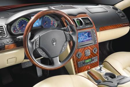 2009+maserati+quattroporte+interior