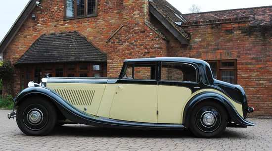 A classic 1935 Bentley to go under the hammer along with the company that made it