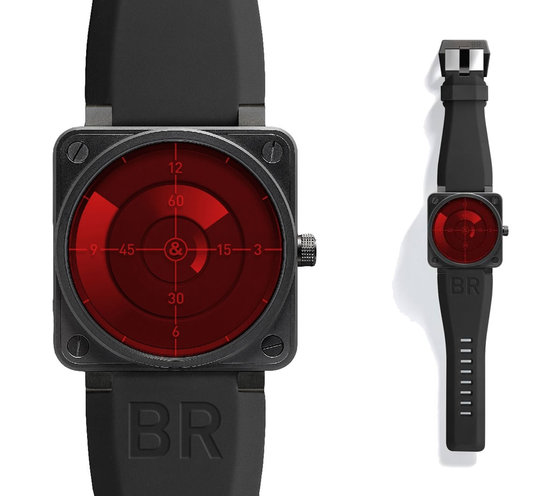 BELL & ROSS BR 01 Red Radar unveiled