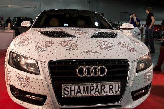 Audi A5 в кристаллах Swarovski