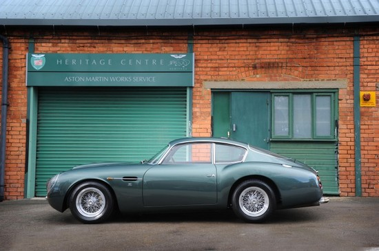 1991 Aston Martin DB4GT Zagato Sanction II Coupé sells for record-breaking $1.9 million