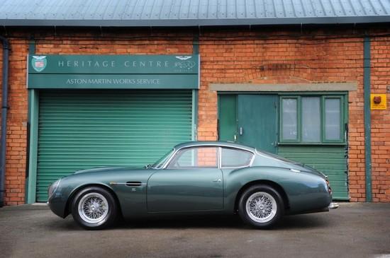 1991 Aston Martin DB4GT Zagato Sanction II Coupé sells for record-breaking $1.9 million