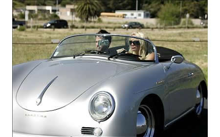 Celebrities That Like Classic Cars 2