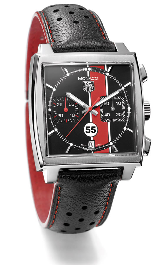 Carrera Automatic Chronograph Black Dial Watch | Tag Heuer Watches