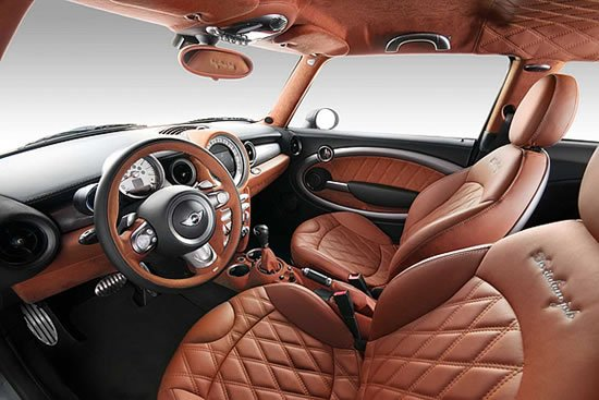 Mini Cooper S с салоном в стиле Bentley