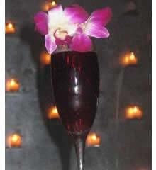 Duvet Platinum Passion- New York's priciest Cocktail.