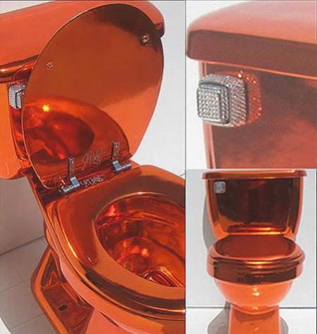 luxury toilet 1 5 Toilet Termewah di Dunia