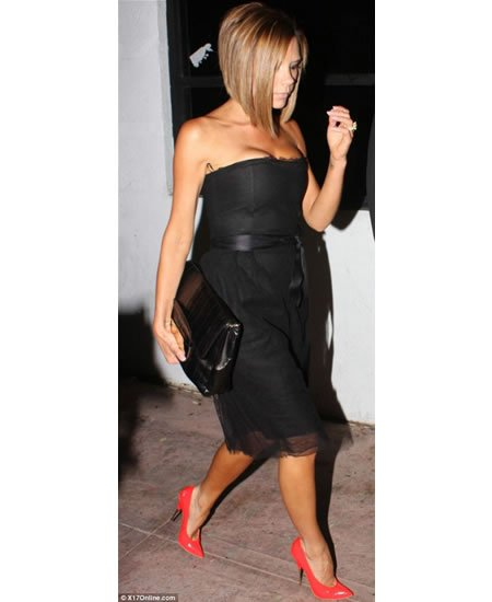 victoria beckham heels with no heel. Victoria Beckham makes news