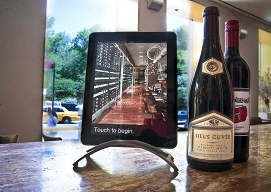 iPad wine tablets 1 iPad Wine Menu