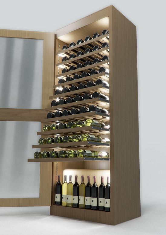 Sand & Birch designs climate controlled Regency Wine Cellar