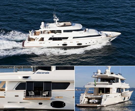 Ferretti Custom Line launches the Navetta 33 Crescendo Ziacanaia maxi-yacht