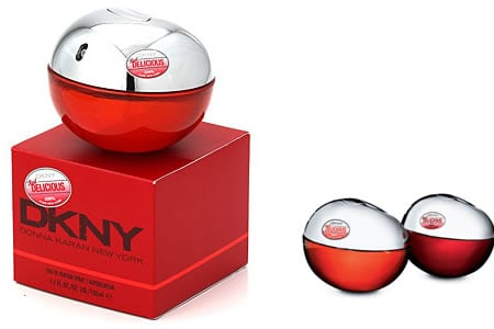 DKNY's limited-edition of Red Delicious
