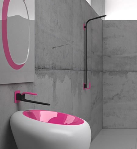 Kawa Bathroom Faucet from Karim Rashid redefines elegance - Luxurylaunches.com