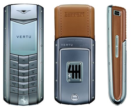 Vertu Ascent ferrari Limited Edition 60 released