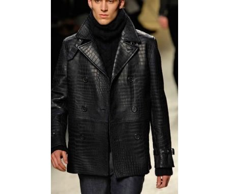 Hermes Crocodile Peacoat for $1,50,000 - Luxurylaunches.com