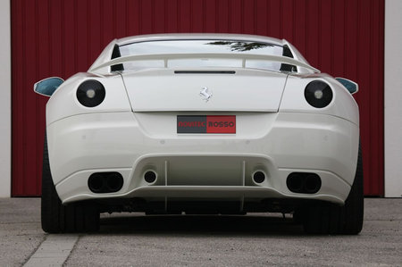New fine-tuned Ferrari 599 GTB from Novitec Rosso is a mean machine