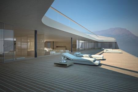 Luxury Interior Design and Luxury Yachts: Modern Future Motor Yachts ...