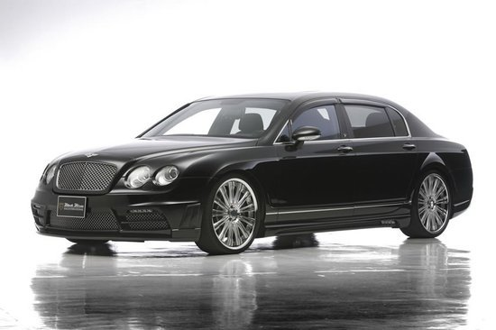 Wald International renders a Black Bison makeover for Bentley Continental
