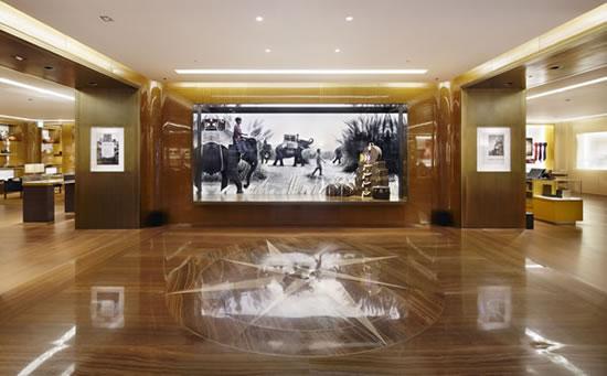 Louis Vuitton открыл бутик в аэропорту Инчхон.