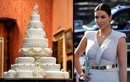 Her wedding was royalty with the 20000 10tier wedding cake