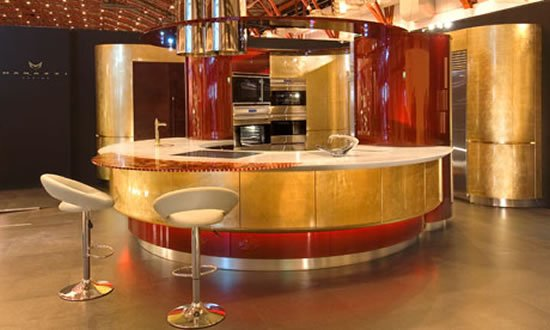 Colosseo Oro By Marazzi Design Is The Most Expensive Fitted Kitchen In World