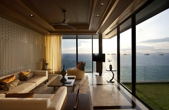 Droombestemming conrad koh samui resort spa - Lounge sfeer ...