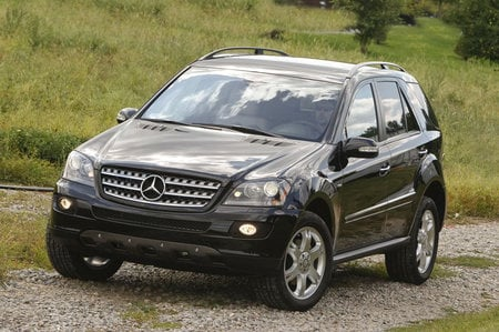 Mercedes Ml350 Suv. Mercedes rolls out ML 350