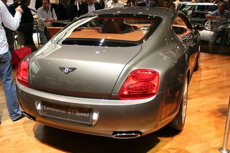 Bentley Gt Speed. Bentley Continental GT Speed
