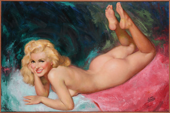 Marilyn Monroe 39s wedding ring and nude painting to go under the hammer