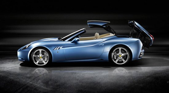 Ferrari California 1 thumb 550x305 2012 will bring in a lighter, faster and better Ferrari California