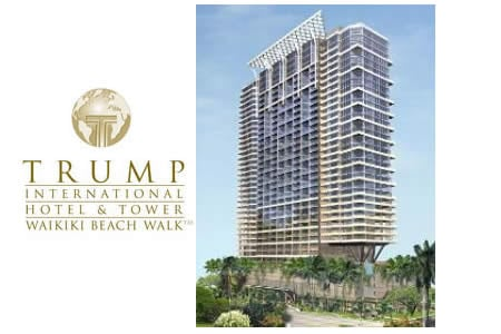The Trump International Hotel & Tower Waikiki Beach Walk Sold Out ...