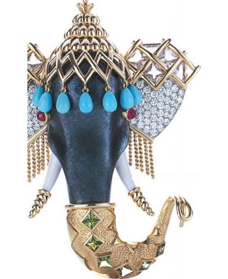 Tiffany & Company Elephant_Brooch_1