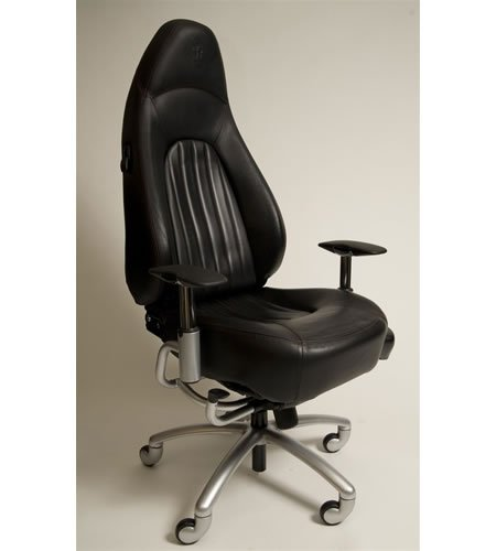 Sports Car Seats Into Office Chairs