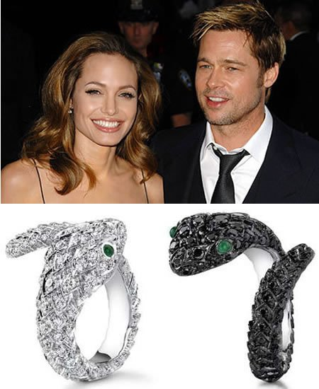 Brad Pitt and Angelina Jolie turn jewelry designers with the limited edition