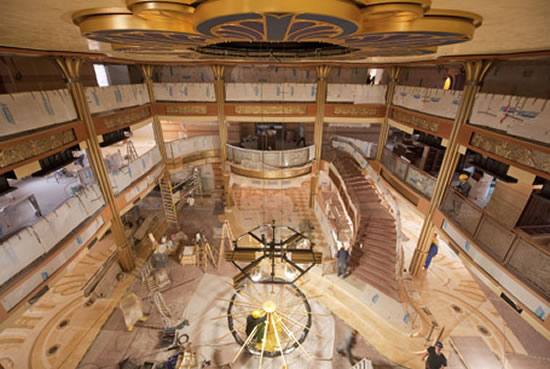 And after their home concept they decided to create the Disney Dream cruise