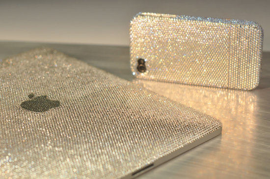 Crystograph brings the Ice edition iPad and iPhone 4 with Swarovski crystals